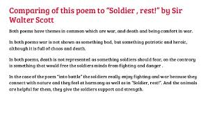 Comforting Poems About Death Into Battle U201d By Julian Grenfell