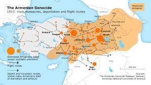 armenia on world map why it s so controversial to call the armenian genocide a genocide