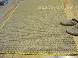 Jute Kitchen Rug Natural Rug Fiber Rug Crochet Rug Jute Rug Throw Rug