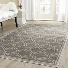 amazon com safavieh amherst collection amt412c grey and light