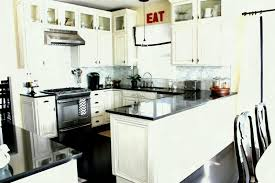 white kitchen ideas for small kitchens fascinating white kitchen cabinets with black appliances and modern