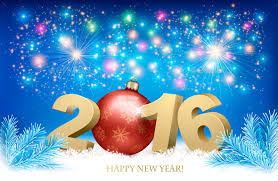 happy new year background with 2016 by almoond graphicriver