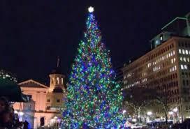 Portland Christmas Lights Tree Lighting Officially Rings In Holiday Season