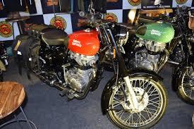 lexus india surat royal enfield unperturbed by the launch of the bajaj dominar