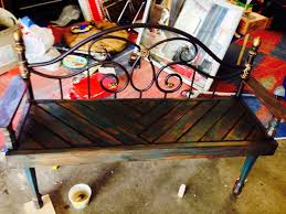 Iron Bedroom Bench 25 Unique Bed Frame Bench Ideas On Pinterest Headboard Benches