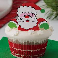 Wilton Cupcake Decorating Wilton Cupcake Decorating Kit Santa Pk 24 Bij Deleukstetaartenshop