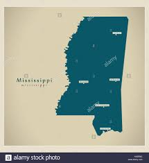 Mississippi Map Usa by Miss Usa Map Bodctk Maps United States Map Showing Mississippi