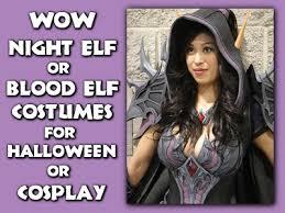 Wow Halloween Costumes Wow Night Elf Blood Elf Costumes