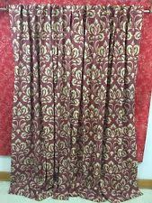 Rust Colored Curtains Pier 1 Imports Curtains Drapes And Valances Ebay