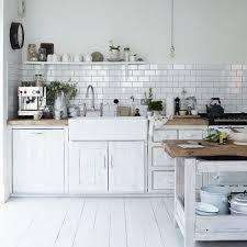 idee cuisine blanche cuisine blanche idée et photo