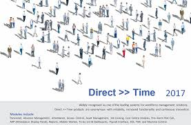 direct time workforce management system pc based systems