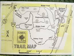 Map Of Holmes County Ohio by Ramser Arboretum Trekohio