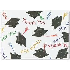 thank you graduation cards mortar board graduation thank you cards stationery thank you cards