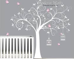 Etsy Wall Decals Nursery Free Shipping Wall Decal Trees Wall Decor Nursery Vinyl Wall