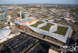 nashville music city center rooflite green roof media products
