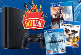 ps4 black friday pre black friday deal ps4 slim battlefield 1 overwatch tomb