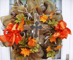 Thanksgiving Deco Mesh Wreaths Dainty Or Fall Wreaths Under A Texas Sky In Fall Here Are Lots To