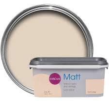 colours soft coffee matt emulsion paint 2 5l departments diy