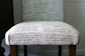 How To Reupholster Armchair How To Reupholster A Dining Chair Straying From Your