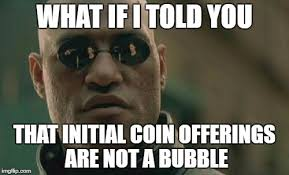 First Meme Ever - initial coin offering let the ico memes begin the first initial