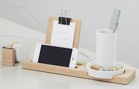 Small Desk Organizer by 5 Favorites The Desk Set Natural Wood Edition Remodelista