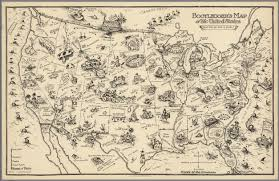 Map Of The Untied States Bootlegger U0027s Map Of The United States David Rumsey Historical
