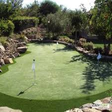 Backyard Golf Course by Www Synlawnvancouver Ca Synthetic Grass Putting Greens In