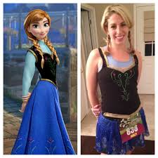 elsa halloween costume frozen how to creating my anna from frozen costume running