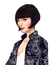 miss fisher hairstyle image result for miss fisher illustrations hairstyle pinterest