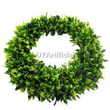Artificial Boxwood Topiary Trees Customized Size Artificial Boxwood Topiary Wreath Dongyi