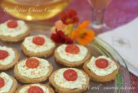 traditional canapes benedictine cheese canapés a well seasoned kitchen