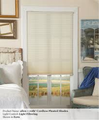 Cordless Window Shades Polyester Cordless Pleated Custom Shades