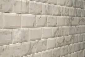 Beveled Subway Tile - Beveled subway tile backsplash
