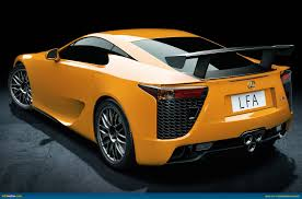 lexus supercar 2013 ausmotive com lexus lfa nürburgring package