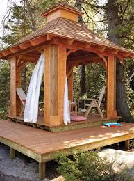 Patio Gazebo Ideas Free Gazebo Plans 14 Diy Ideas To Enjoy Outdoor Living Home And