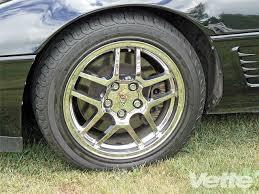 1996 corvette wheels black 1996 chevy corvette lt1 magazine