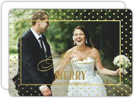 married christmas cards cheap foil christmas cards invite shop