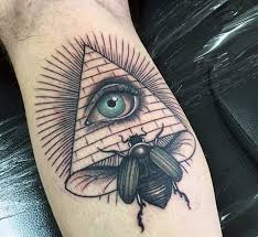 70 scarab tattoo designs for men egyptian bettle ideas