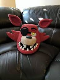 foxy costume foxy costume mask moveable jaw fnaf five nights at freddy s ebay