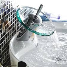 high standard bathroom basin mier tap font b waterfall faucet b