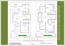 plan collection scintillating duplex house plans west facing gallery best