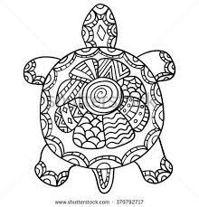 Coloriage Mandala Tortue À Imprimer New Les 245 Meilleures Images Du