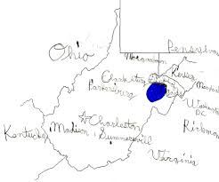 Map Of West Va State Report West Virginia