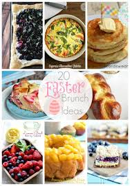 ideas for a brunch 20 easter brunch ideas link party features i heart nap time