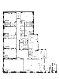 first and second floor plans of bearwood house bearwood house