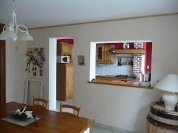 cuisine passe plat salle a manger avec passe plat en chêne v211maison59360