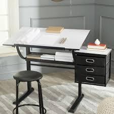 Drafting Table Reviews Safavieh Harvard Drafting Table And Chair Set Reviews Wayfair
