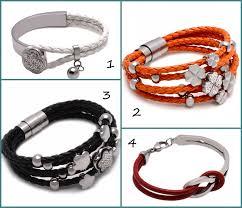 braided leather bracelet women images 4 new models of leather bracelets for women jpg