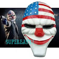 Payday Halloween Costume Buy Mascaras Halloween Masquerade Cosplay Payday 2 Mask Dallas