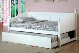 White Daybed With Pop Up Trundle Bedroom Fascinating Wood Daybeds With Trundle White Daybed Pop